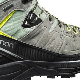 Salomon X Alp LTR GTX Calzado Hombre, shadow/castor gray/lime punch